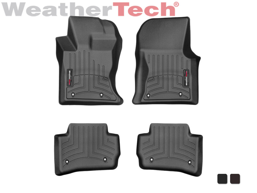 weathertech floor mats floorliner for jaguar f-pace
