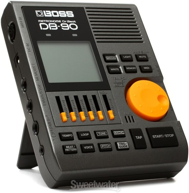 boss db 90 dr beat metronome with tap tempo ebay. Black Bedroom Furniture Sets. Home Design Ideas