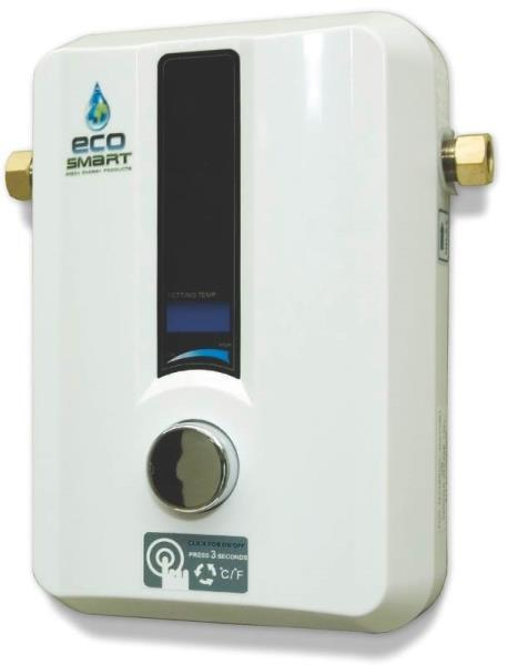 electric tankless water heater new ecosmart green energy eco 11 11kw electric tankless 29295