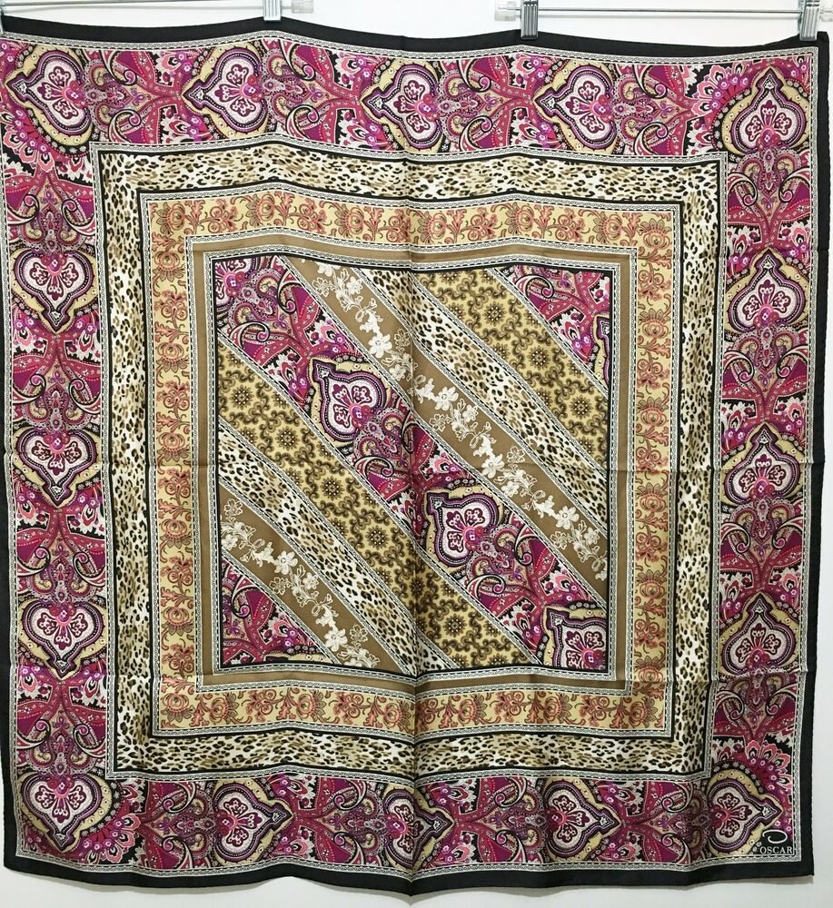172406876401 also 400926631727 besides Ethnic Style moreover Vintage Scarves For Summer Why Not together with 401263178234. on oscar de la renta scarf ebay