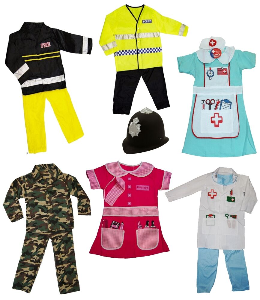 Dress Up: Girls Boys Dress Up Costume Childrens Kids Party Outfit