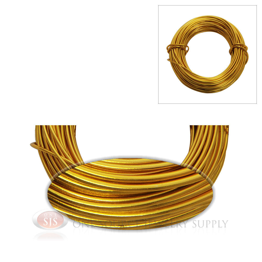 18 gauge gold jewelry making wrapping craft aluminum wire for 22 gauge craft wire