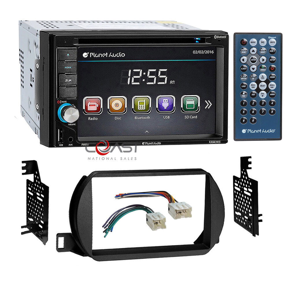 planet audio car radio stereo 2 din dash kit harness for 2002 04 nissan altima ebay