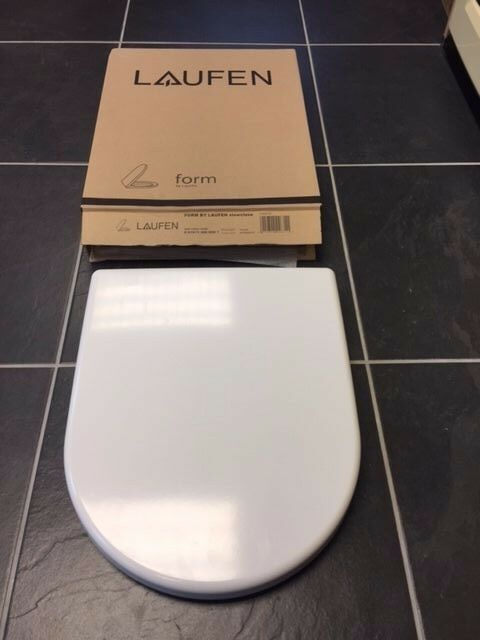 Laufen Form Soft Close Toilet Seat White 8 9767 1 300