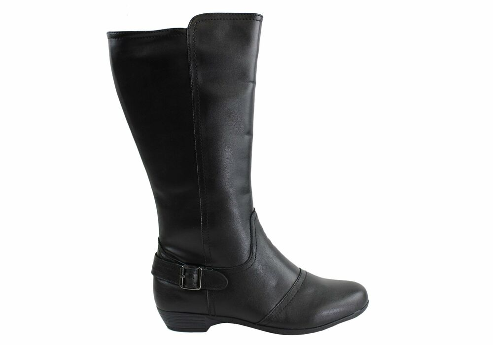 new cushion comfort anouk womens leather comfortable boots