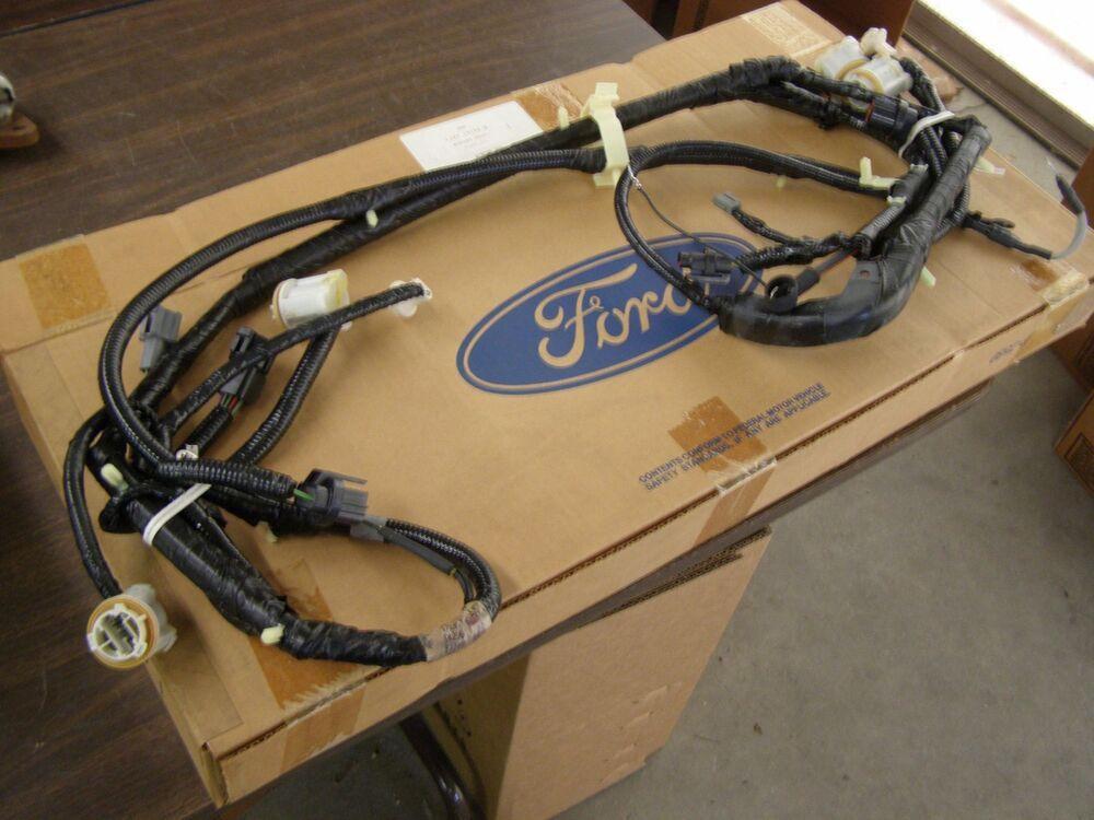 Nos Oem Ford 1992 1993 Lincoln Continental Wiring Harness