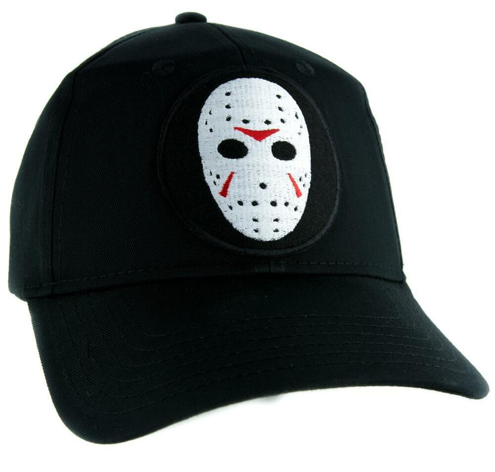 918ffc027d4 Details about Hockey Mask Friday the 13th Hat Baseball Cap Horror Clothing  Jason Voorhees