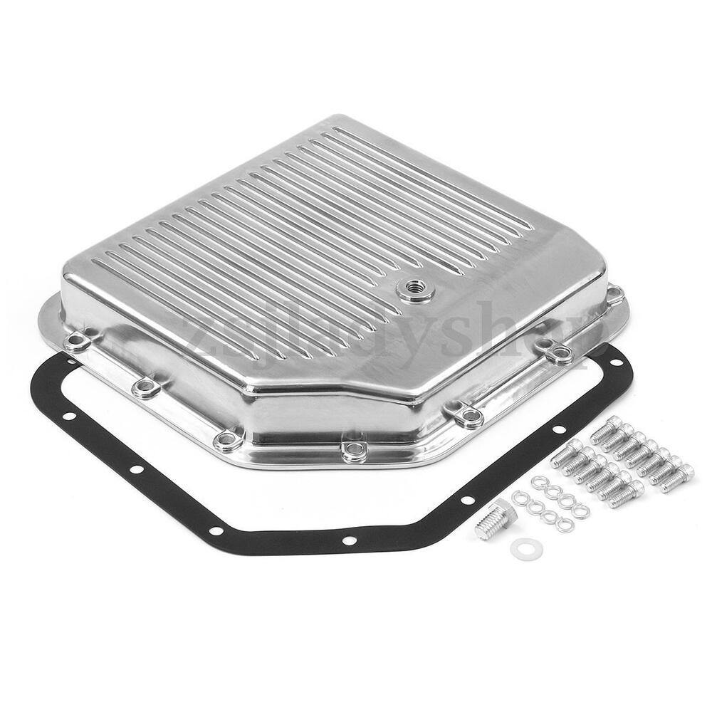Polished Aluminum Transmission Pan And Gasket Bolts For