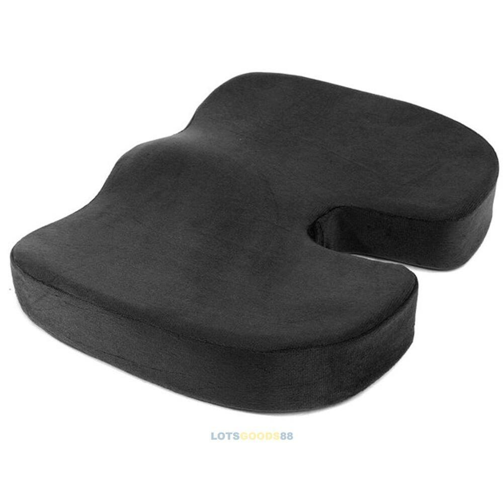 coccyx orthopedic memory foam seat cushion pillow for. Black Bedroom Furniture Sets. Home Design Ideas