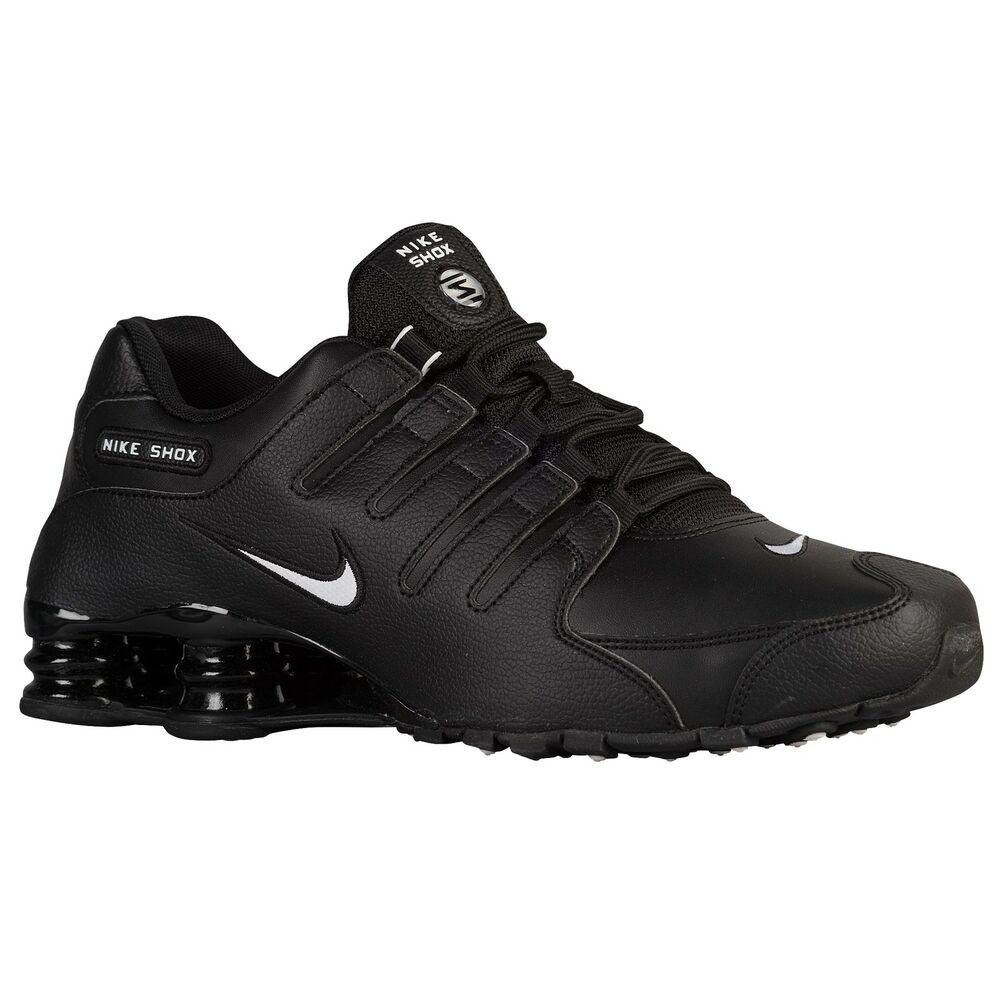 nike shox nz eu mens shoe herren running schuh sneaker black white alle gr en ebay. Black Bedroom Furniture Sets. Home Design Ideas