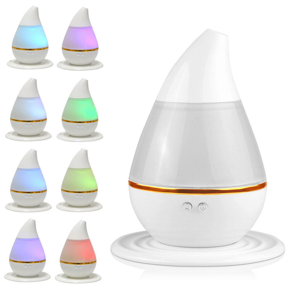 Aroma Oil Diffuser ~ Led aroma humidifier purifier mist maker air aromatherapy