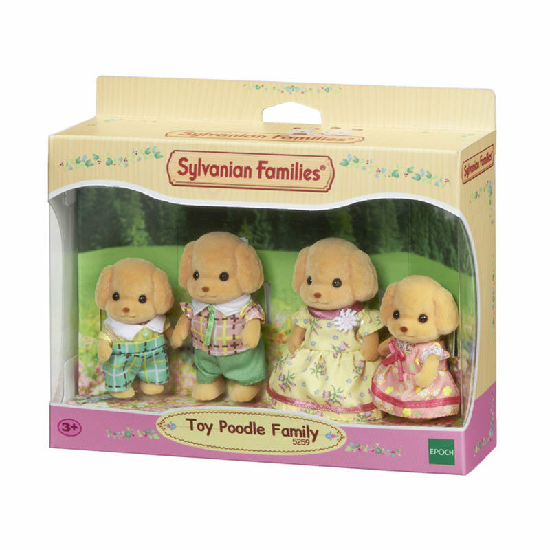 Toys For Family : Sylvanian families toy poodle family figures ebay