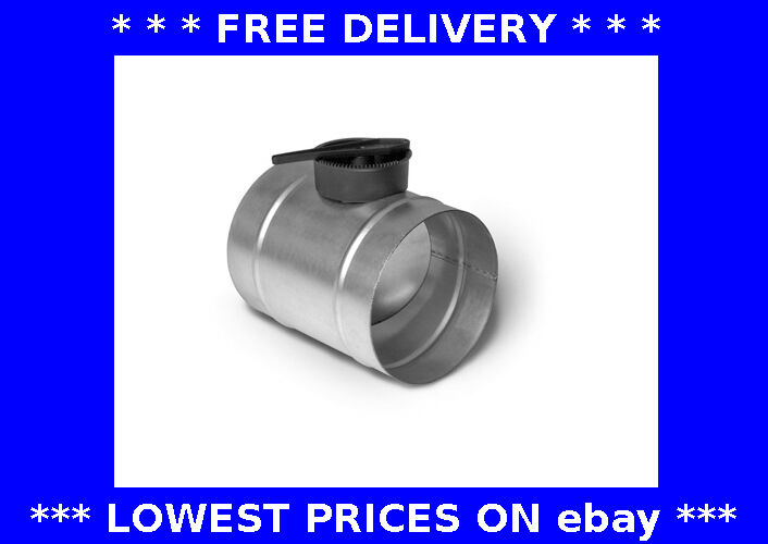 Volume Control Damper : Volume control damper ventilation hydroponic ducting