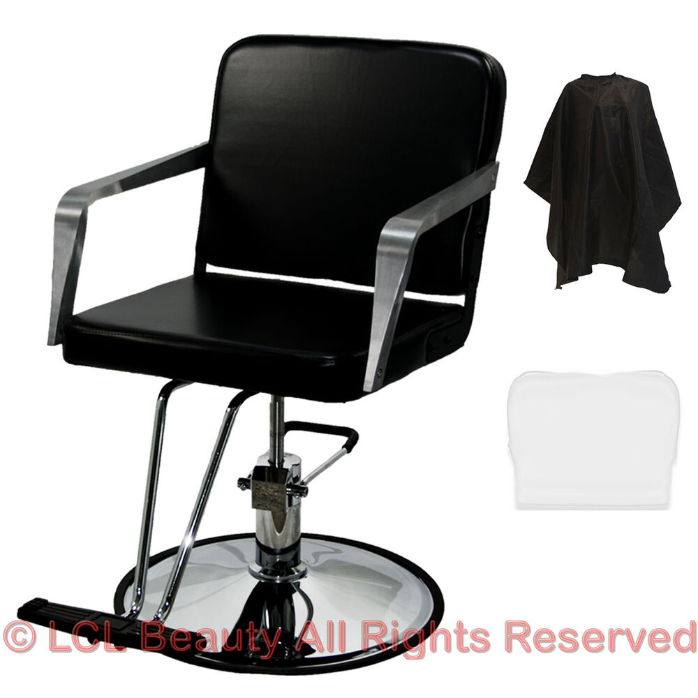 Professional black hydraulic styling barber chair spa for Accessories for beauty salon
