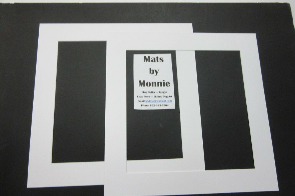 Picture Frame Mat 16x16 with opening 12x12 Single white acid free ...