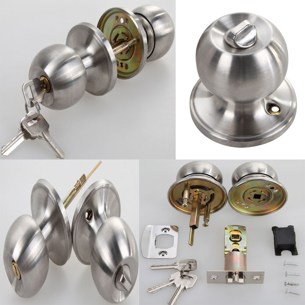 Passage Interior Door Knob Lever Handle Knob Closet