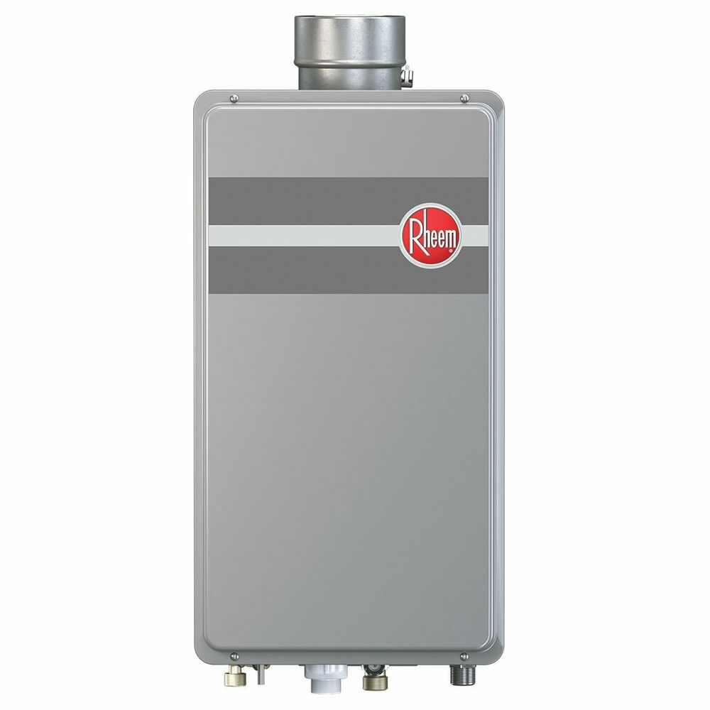 Rheem rtg 84dvln 1 180 000 btu indoor low nox natural gas for 1 bathroom tankless water heater