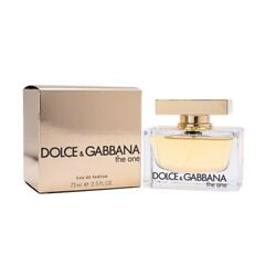 The One by Dolce & Gabbana 2.5 oz EDP Perfume for Women New In Box