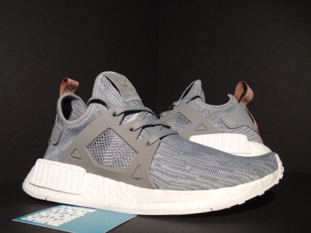 9b1b0f1e0481 Details about ADIDAS NMD XR1 PK W PRIMEKNIT CLEAR ONIX GREY RAW PINK WHITE  GLITCH BB3686 9 8