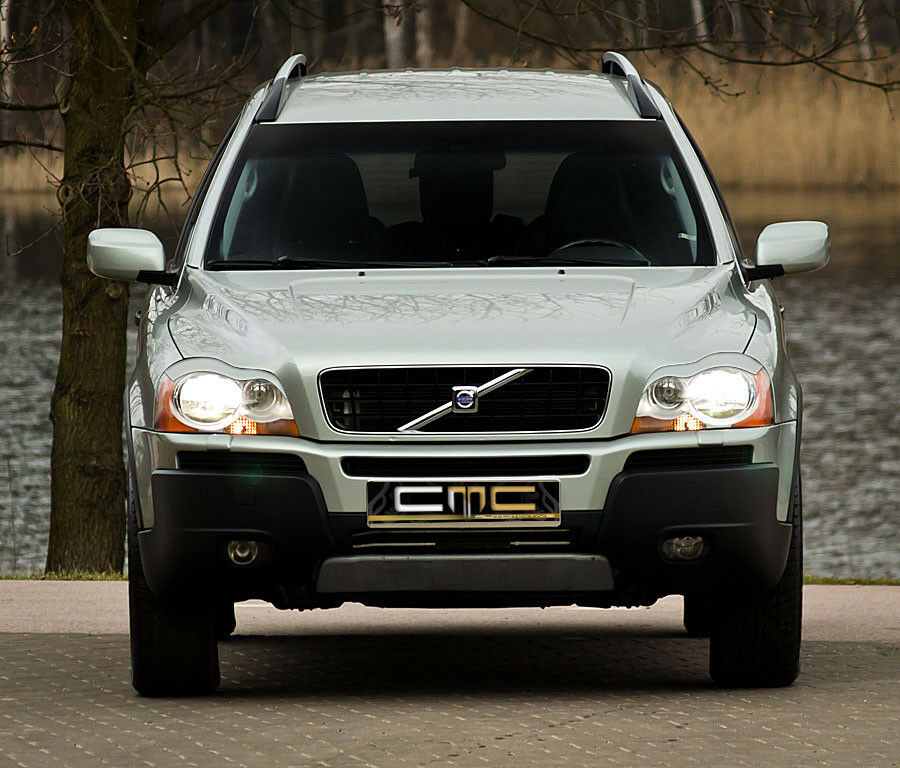 volvo xc90 suv b ser blick breit scheinwerferblenden set ebay. Black Bedroom Furniture Sets. Home Design Ideas