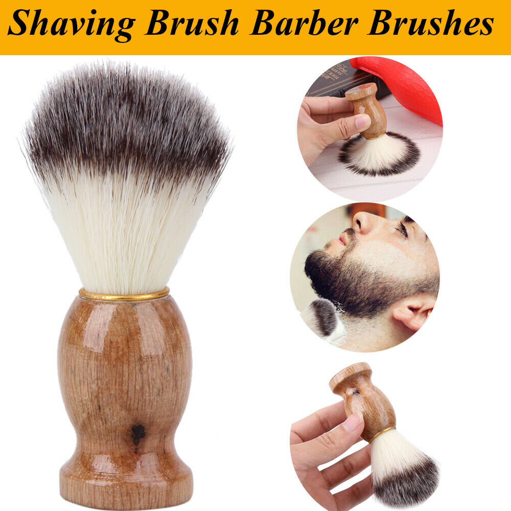 mens hair styling tools brush best badger hair shave wood handle 2863