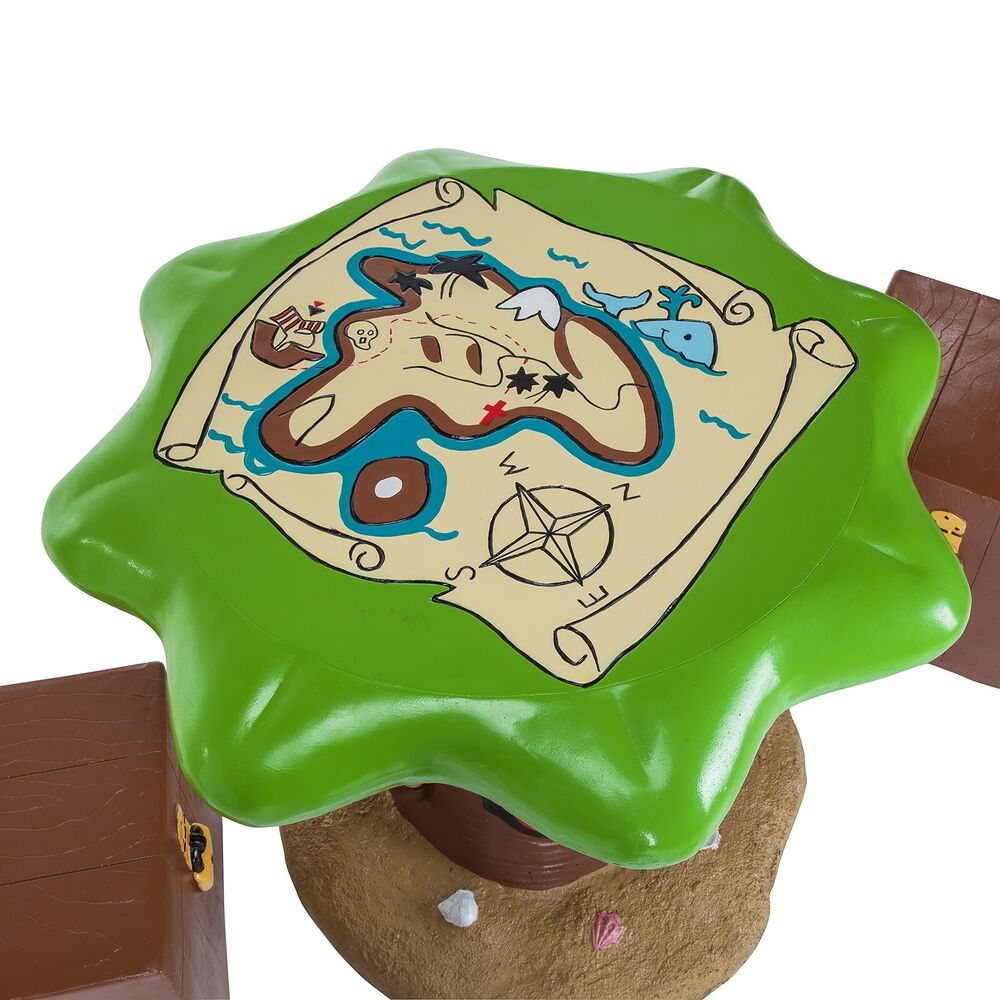 Kids Pirate Outdoor Garden Patio Table Amp Stools Furniture