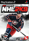 NHL 2K9 (Sony PlayStation 2, 2008) ACCEPTABLE