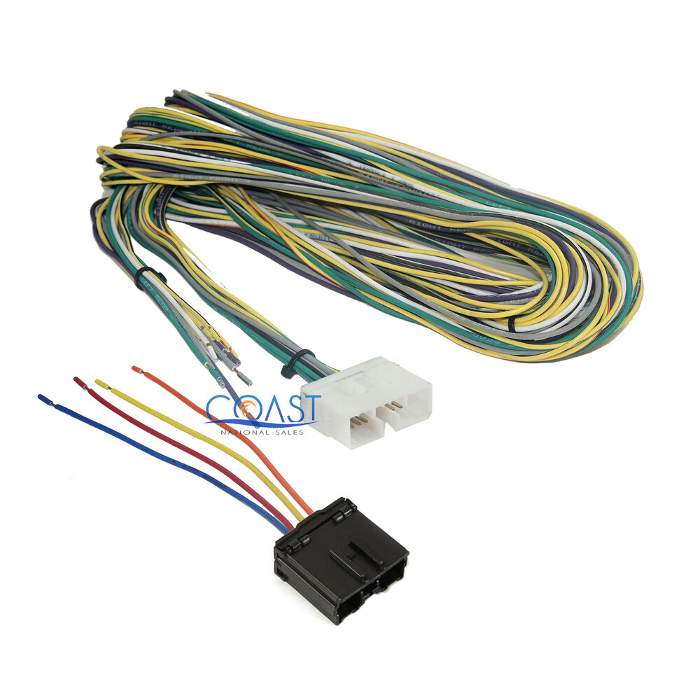 Radio Wiring Harness Metra : Metra car radio stereo amp bypass wiring harness for