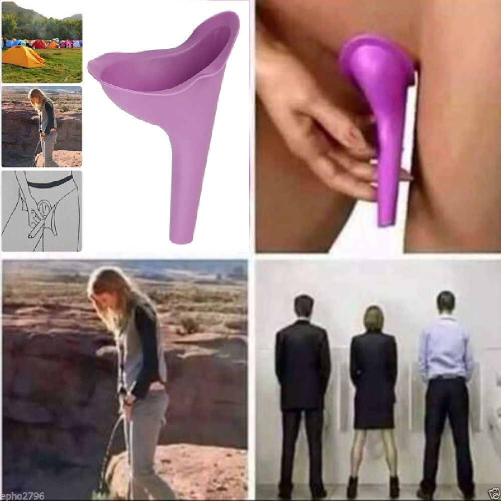 Women going to the bathroom standing up - Women Female Portable Urinal Travel Outdoor Stand Up Pee Urination Device Case