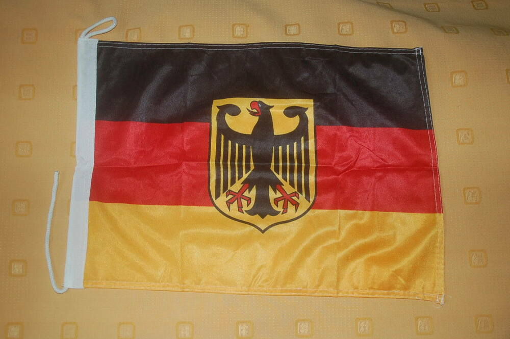 deutschland mit adler bootsflagge bootsfahne boot flagge. Black Bedroom Furniture Sets. Home Design Ideas