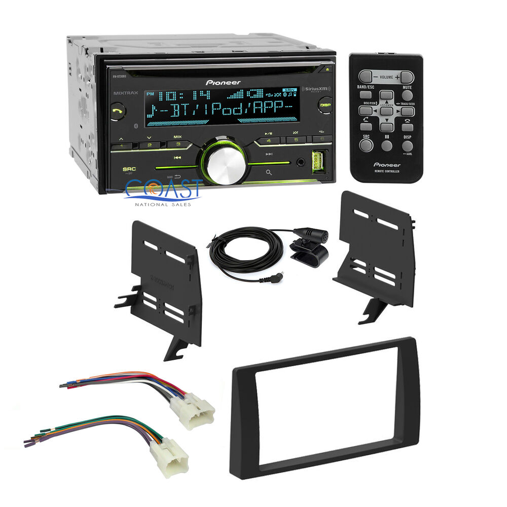 pioneer car sirius xm stereo 2 din dash kit harness for. Black Bedroom Furniture Sets. Home Design Ideas