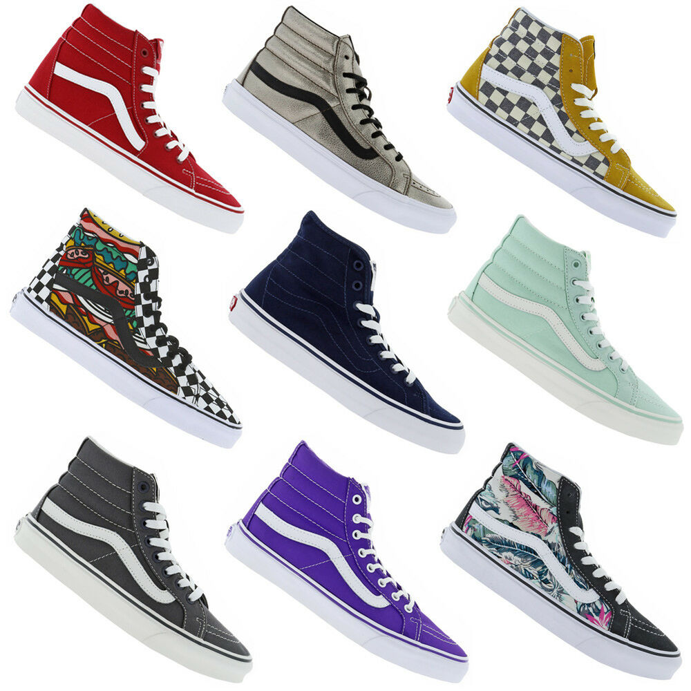 vans sk8 hi sneaker unisex herren damen freizeit schuhe midsneaker mid schuh neu ebay. Black Bedroom Furniture Sets. Home Design Ideas
