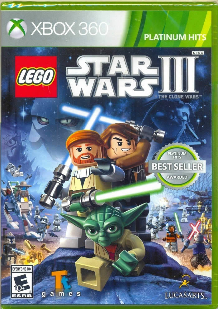 lego star wars iii  the clone wars xbox 360 new sku new