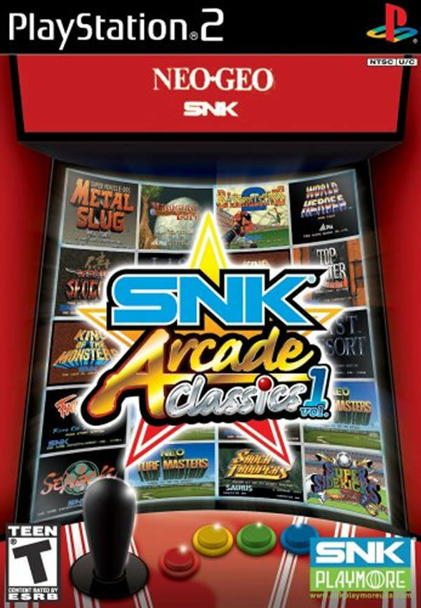 Sell Games For Ps2 : Snk arcade classics vol ps new playstation