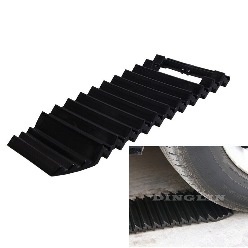 instant traction non slip anti skid mats tire grip road snow rain mud car truck ebay. Black Bedroom Furniture Sets. Home Design Ideas