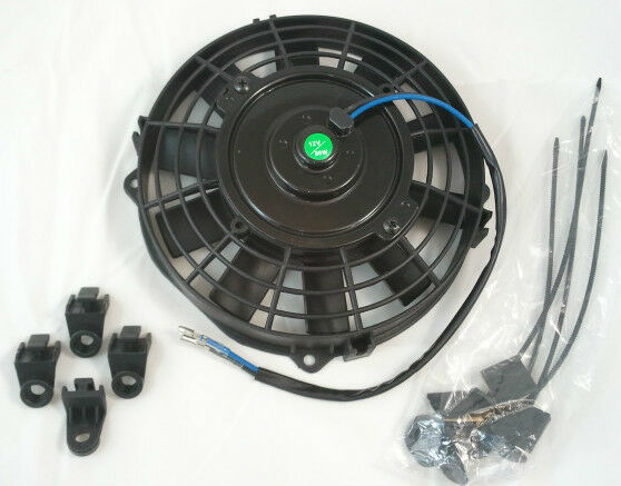 High Cfm 12v Cooling Fans : High performance quot volt straight blade electric fan