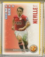 Gary Neville - Manchester United - Football / Soccer Collector Card