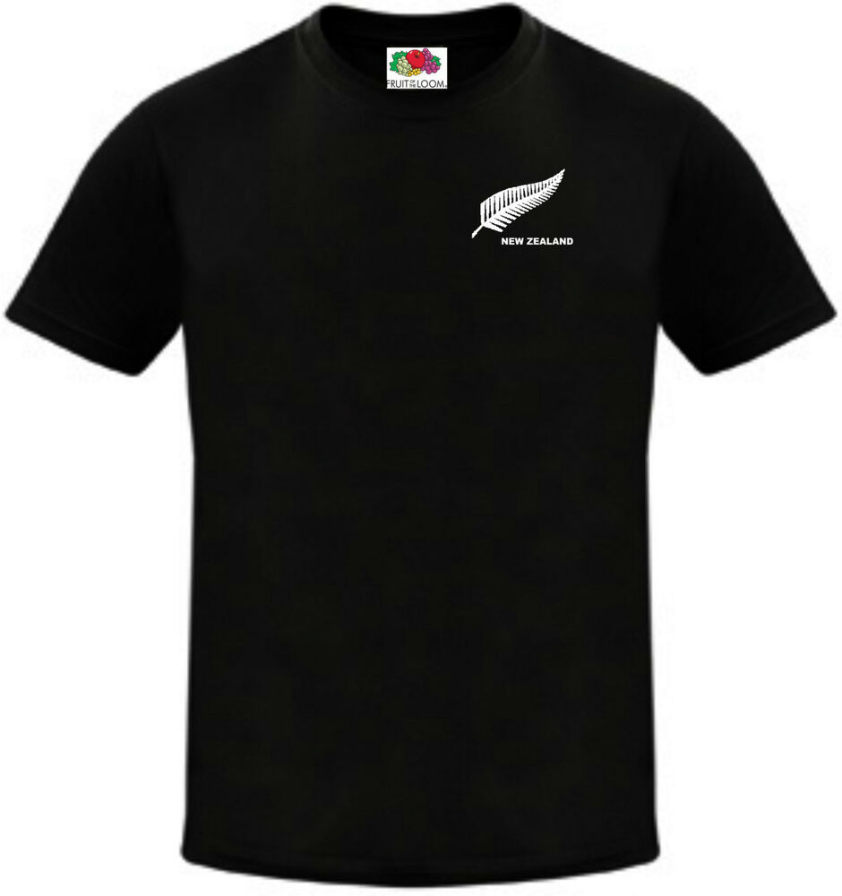 4 Year Old Rugby Boots: New Zealand Kids Boys Girls Child Youth T-Shirt Cricket
