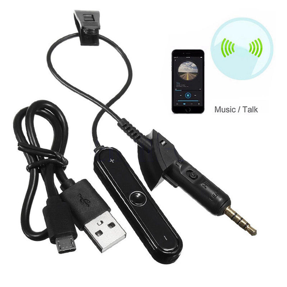 bluetooth adapter mit mic audio call kabel f r. Black Bedroom Furniture Sets. Home Design Ideas