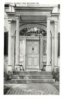 Antique POSTCARD c1910s Sortwell Doorway 1808 WISCASSET, ME MAINE Unused