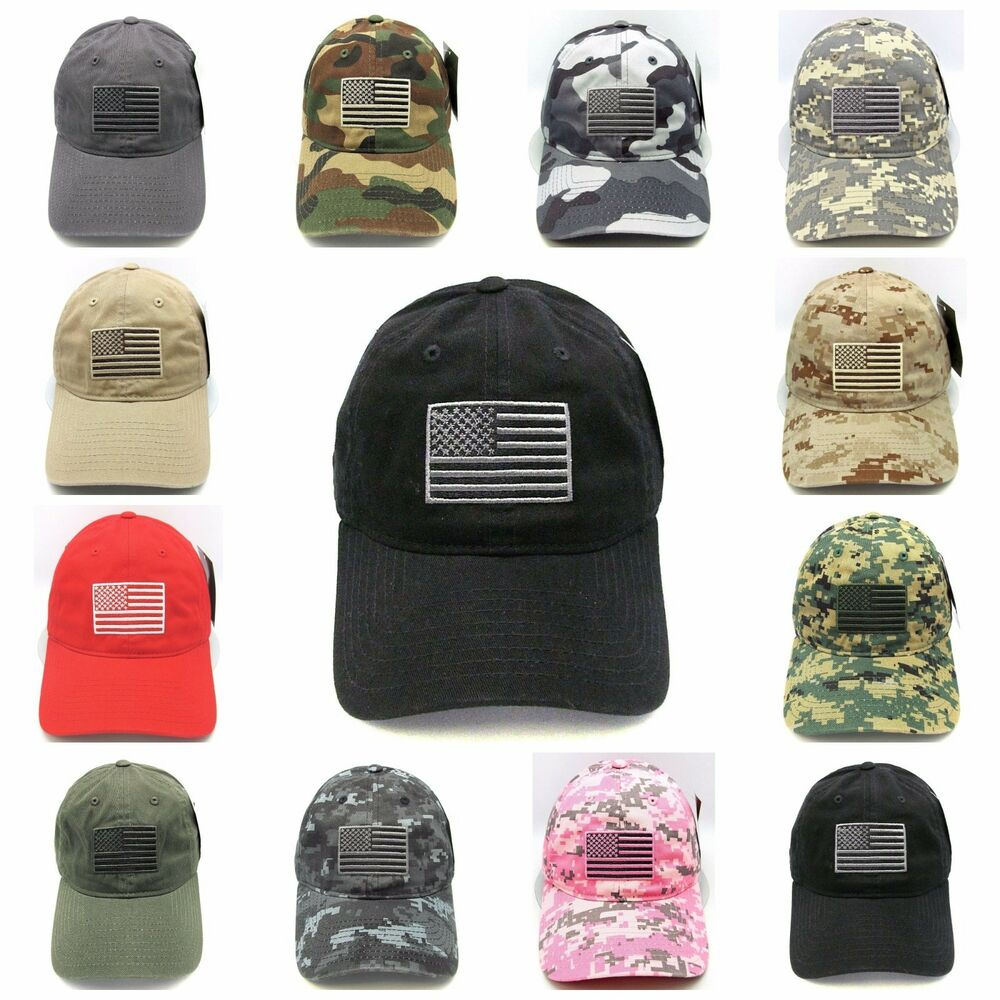 Details about US Flag Hat Cap USA American Military Tactical Operator  Adjustable OSFM NWT e80f413b39aa