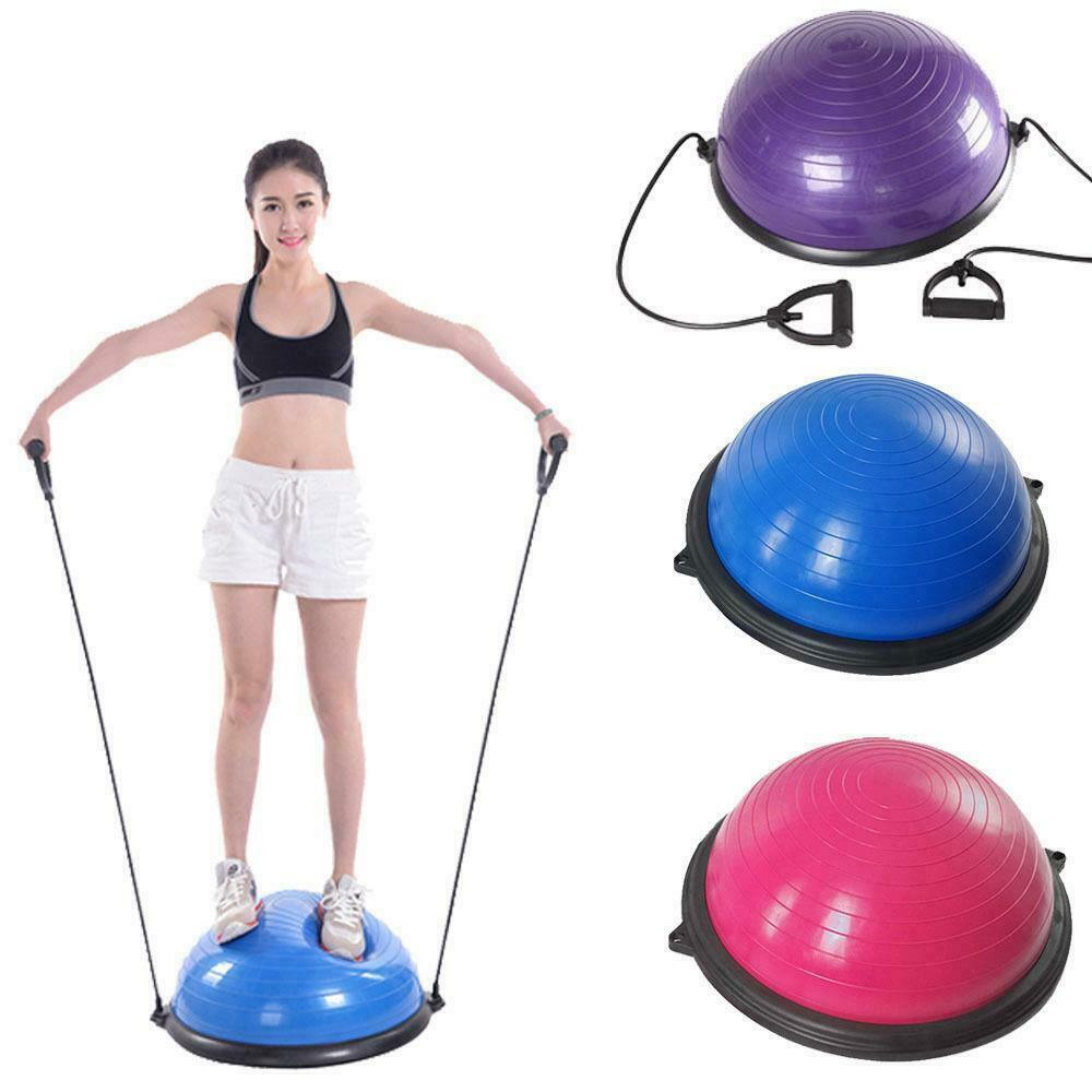 Fitness Yoga Balance Exercise Trainer Ball W/ Resistance