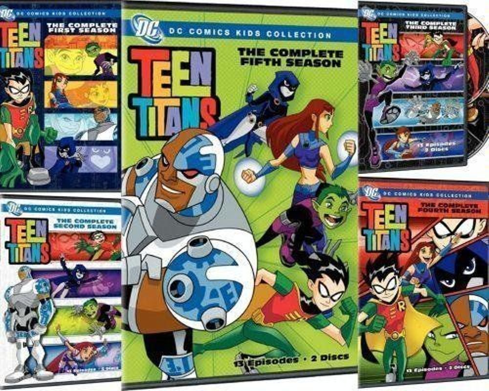 Teen Titans The Complete Animated Series Seasons 1 2 3 4 -6631