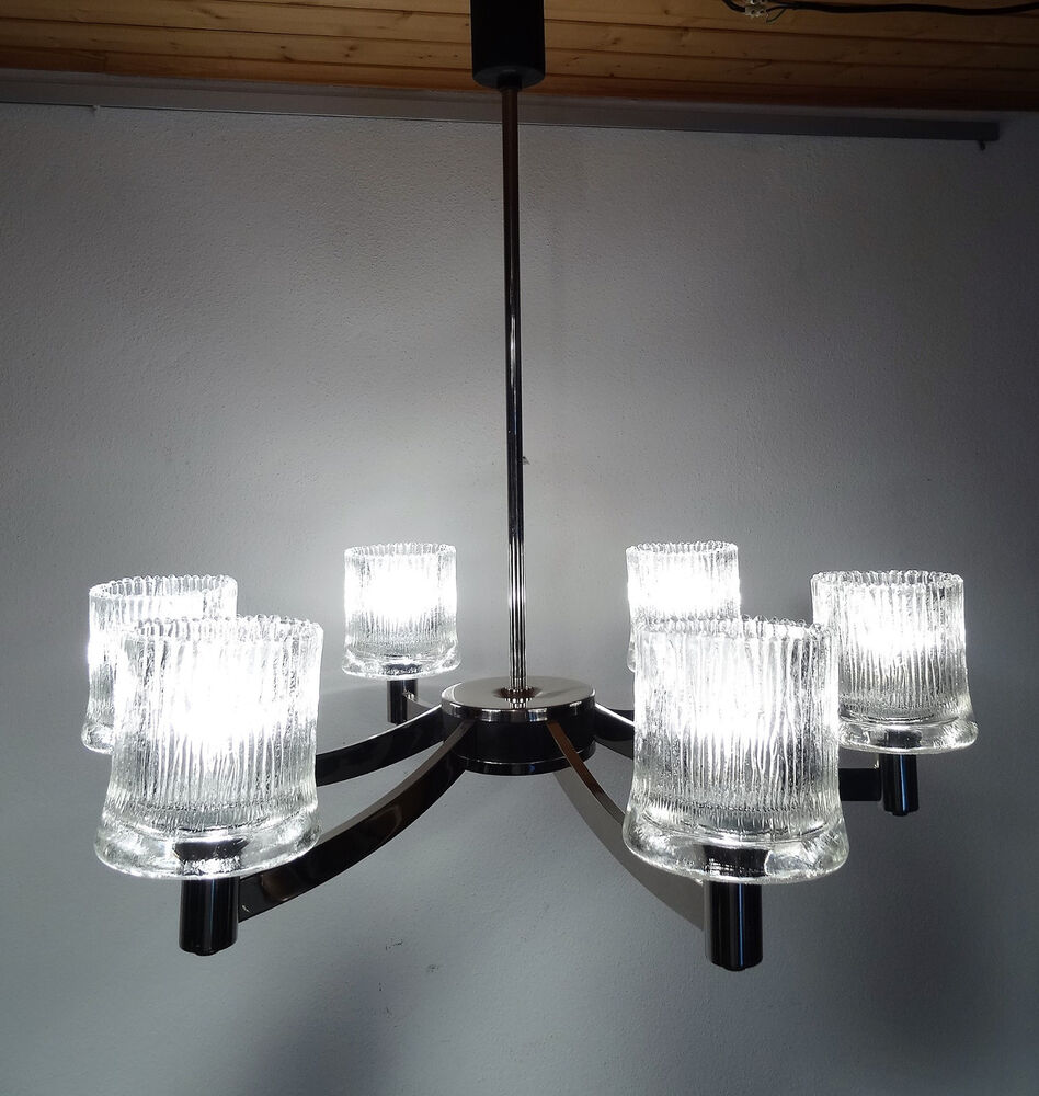 mid century design 60s hillebrand spinne designer lampe. Black Bedroom Furniture Sets. Home Design Ideas