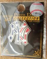 N.Y. New York Yankees red white blue NY logo pin small variety