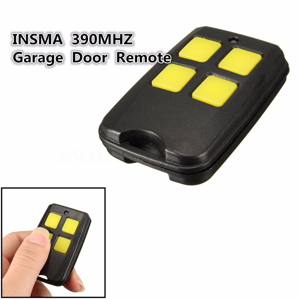 4 Buttons 390MHZ Garage Door Remote For Liftmaster 970LM