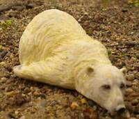 New latex only small polar bear mold.. plaster concrete