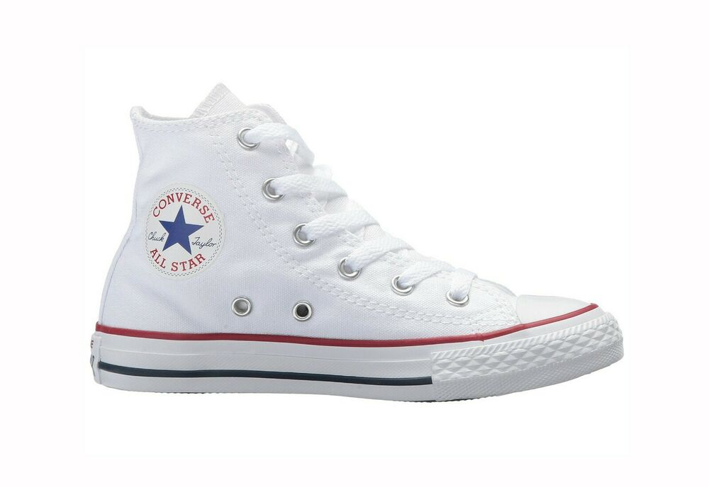 Converse All Star Chucks Children Boys Girls Youths White ...