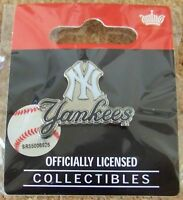 2011 NY N.Y. New York Yankees primary logo plus pin