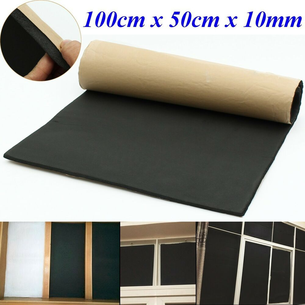 Rubber Sound Proofing Amp Heat Insulation Sheet Closed Cell